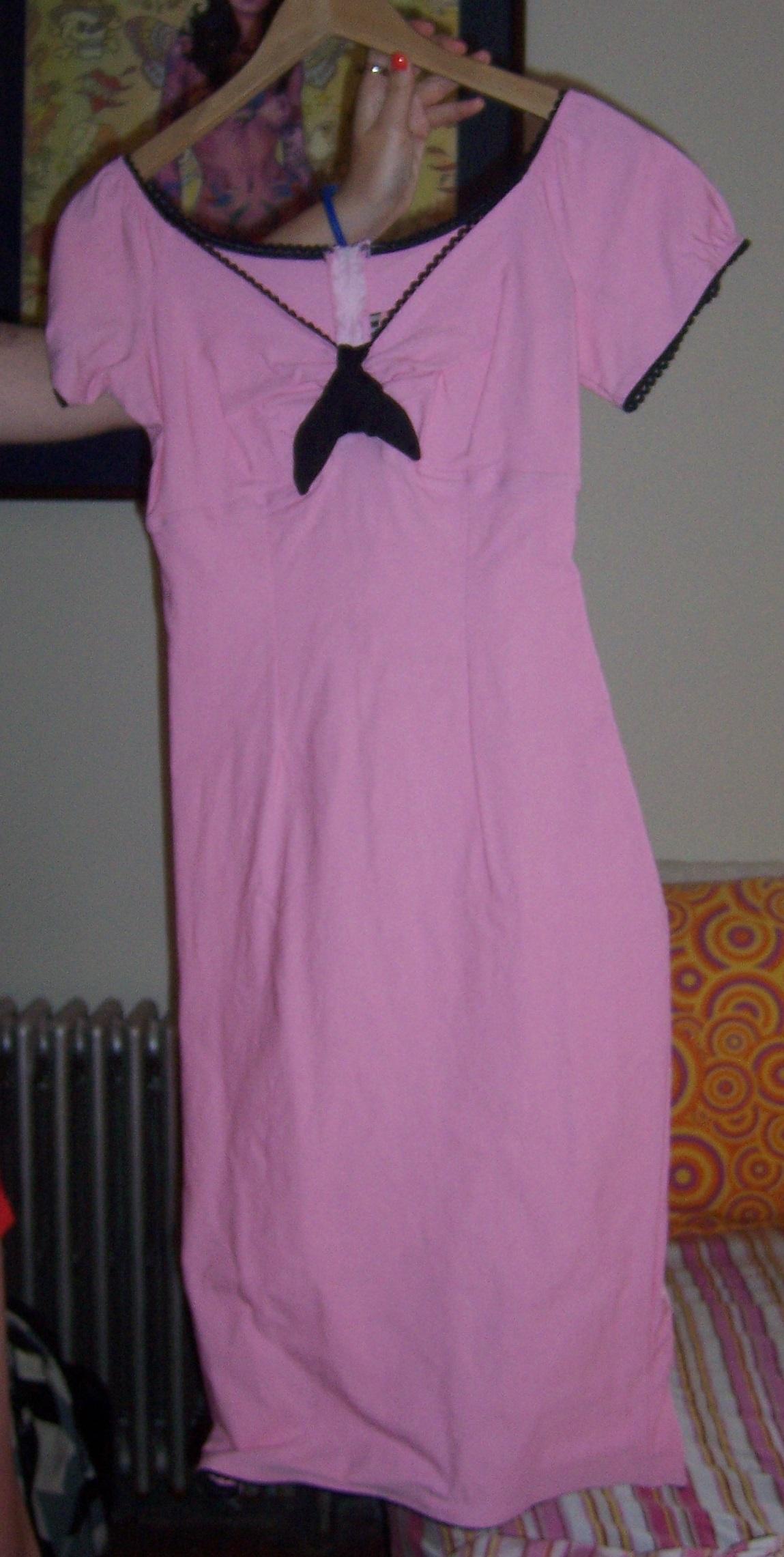 Leah's favorite dress Pinup Girl pink