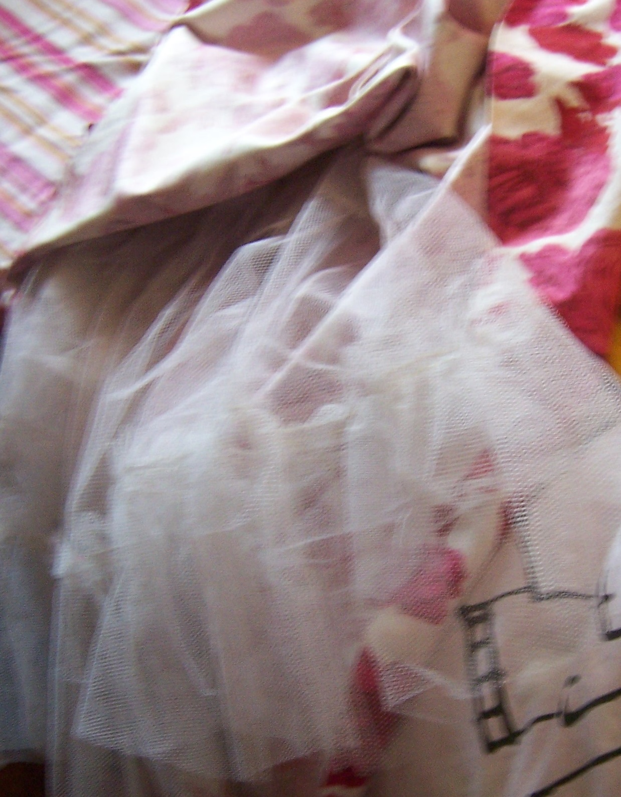 Vintage dress crinoline