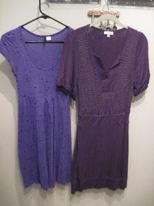 DD Cups Purple Dresses