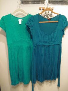 DD Cups Green Dresses