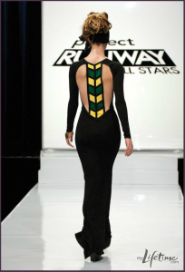 Mondo Guerra Project Runway Jamaica Dress
