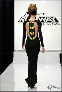 Mondo Guerra Project Runway Jamaica Dress