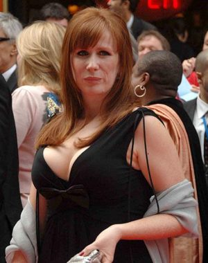 Catherine Tate owns her d cup and up bustline