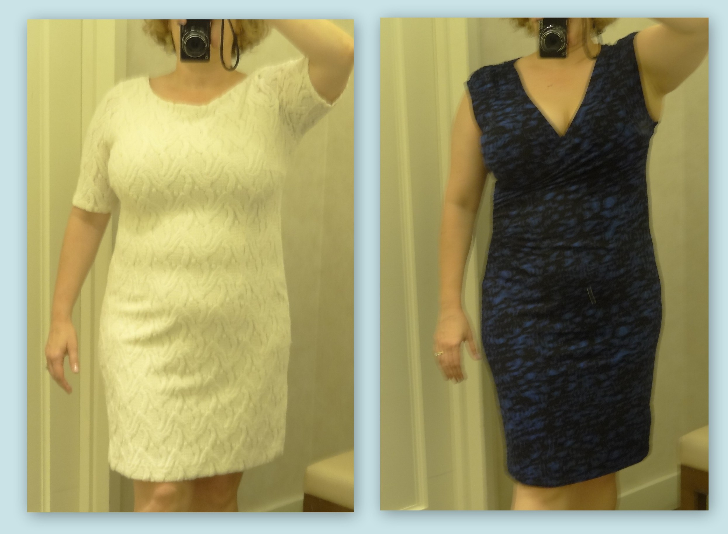 Two Dresses From Ann Taylor That Work Well On Hourgl