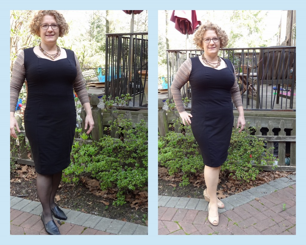 great big bust LBD from Urkye