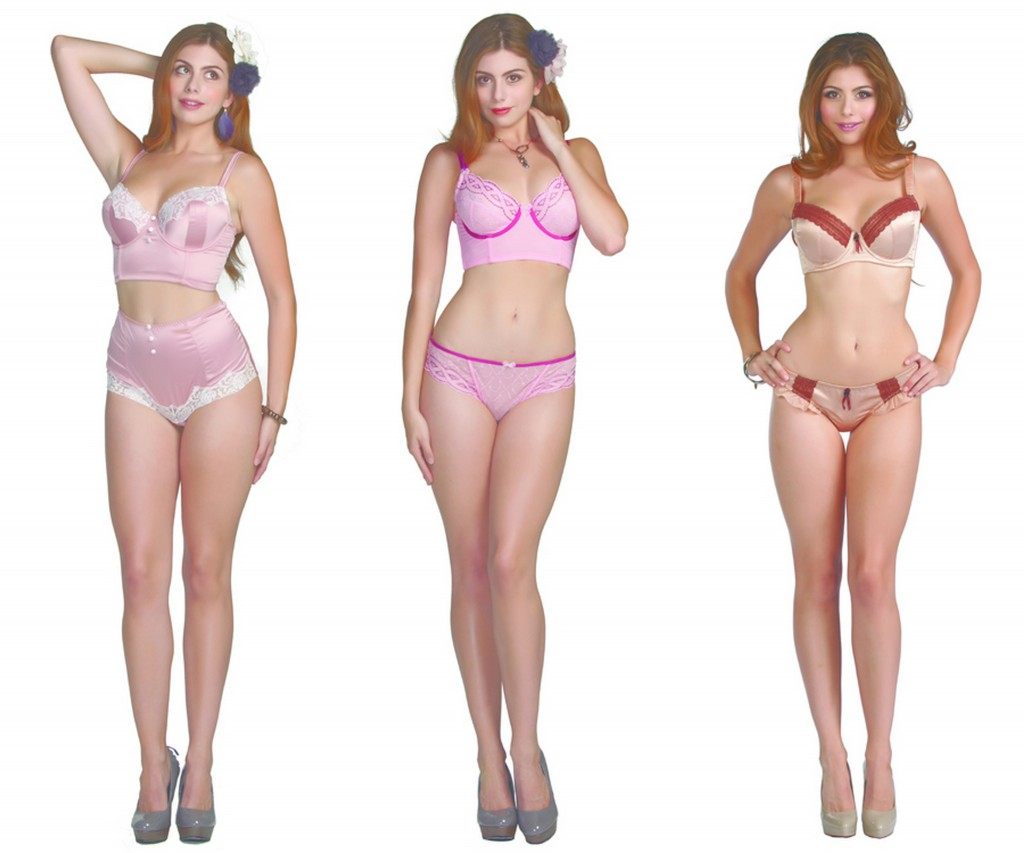 Pretty full bust bras from Parfait.