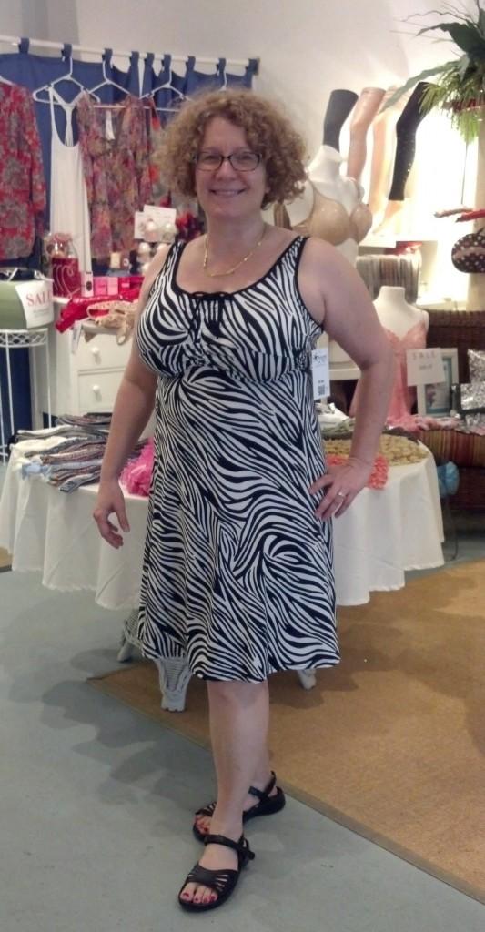 big bust friendly bolero beachwear dress front
