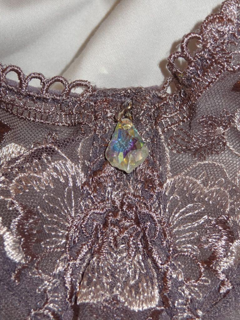 colette center charm on big bust bra
