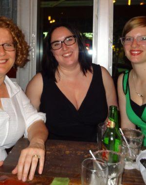 hourglassy writers meet in williamsburg