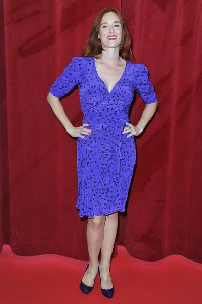audrey purple dress