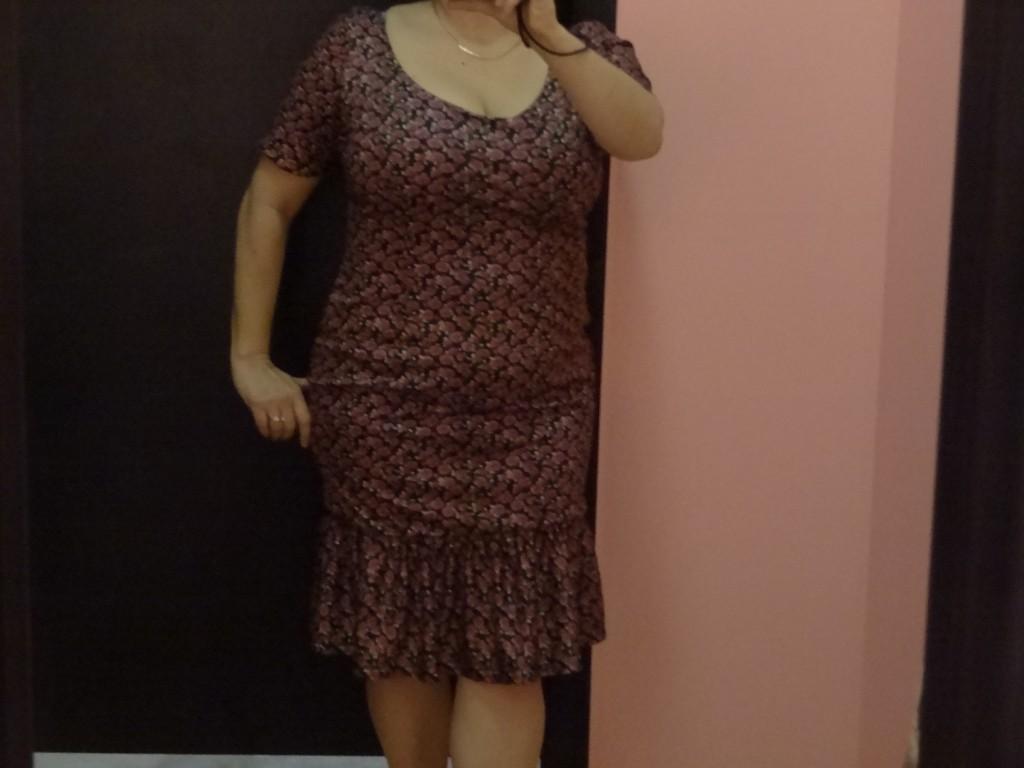 big bust flattering bettie page dress