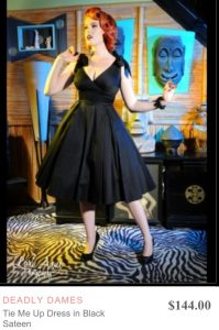 big bust deadly dames dress