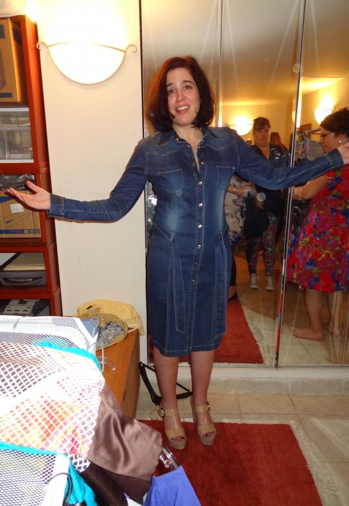 big bust lisa denim dress find