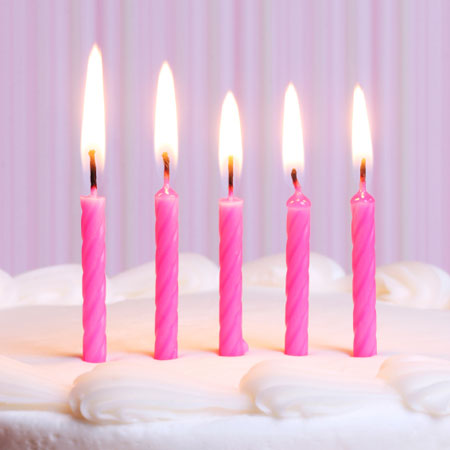 five-candles-on-cake
