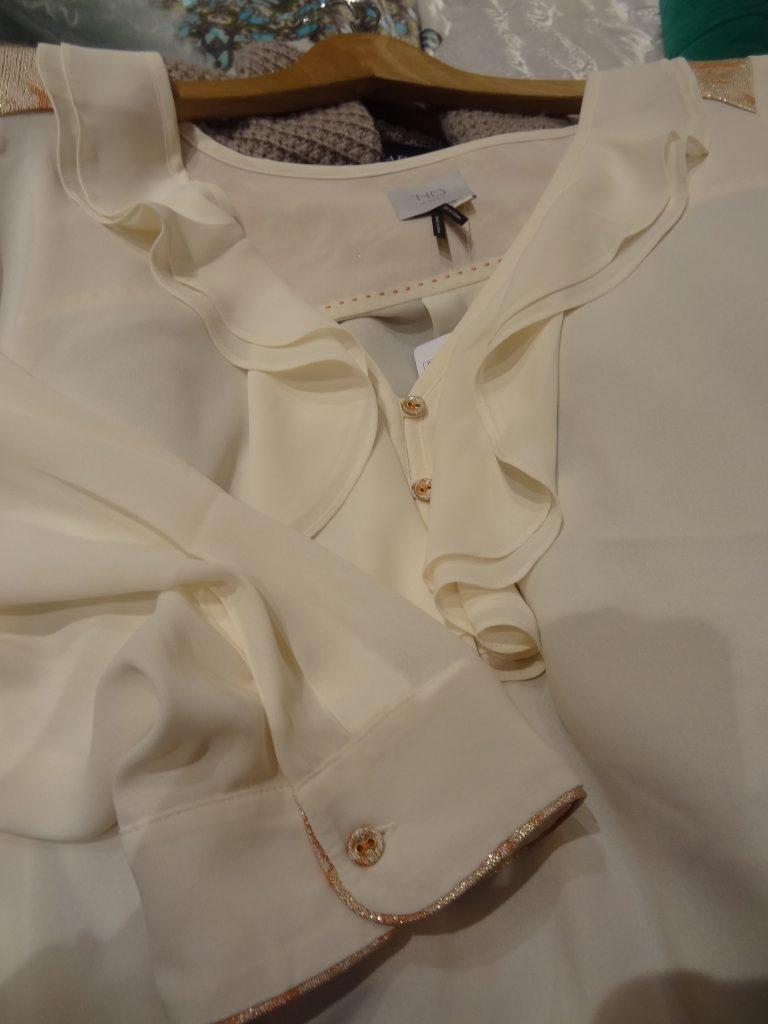anthro blouse details