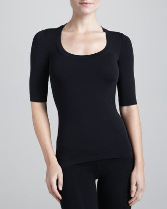 wolford scoop neck for big busts