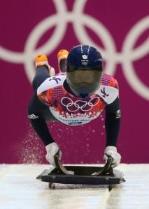 Gold Medal Winner Lizzy Yarnold