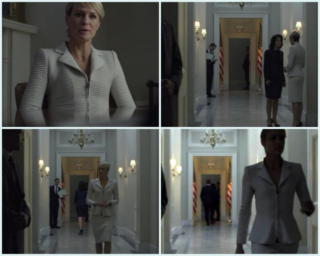 claire underwood amazing suit
