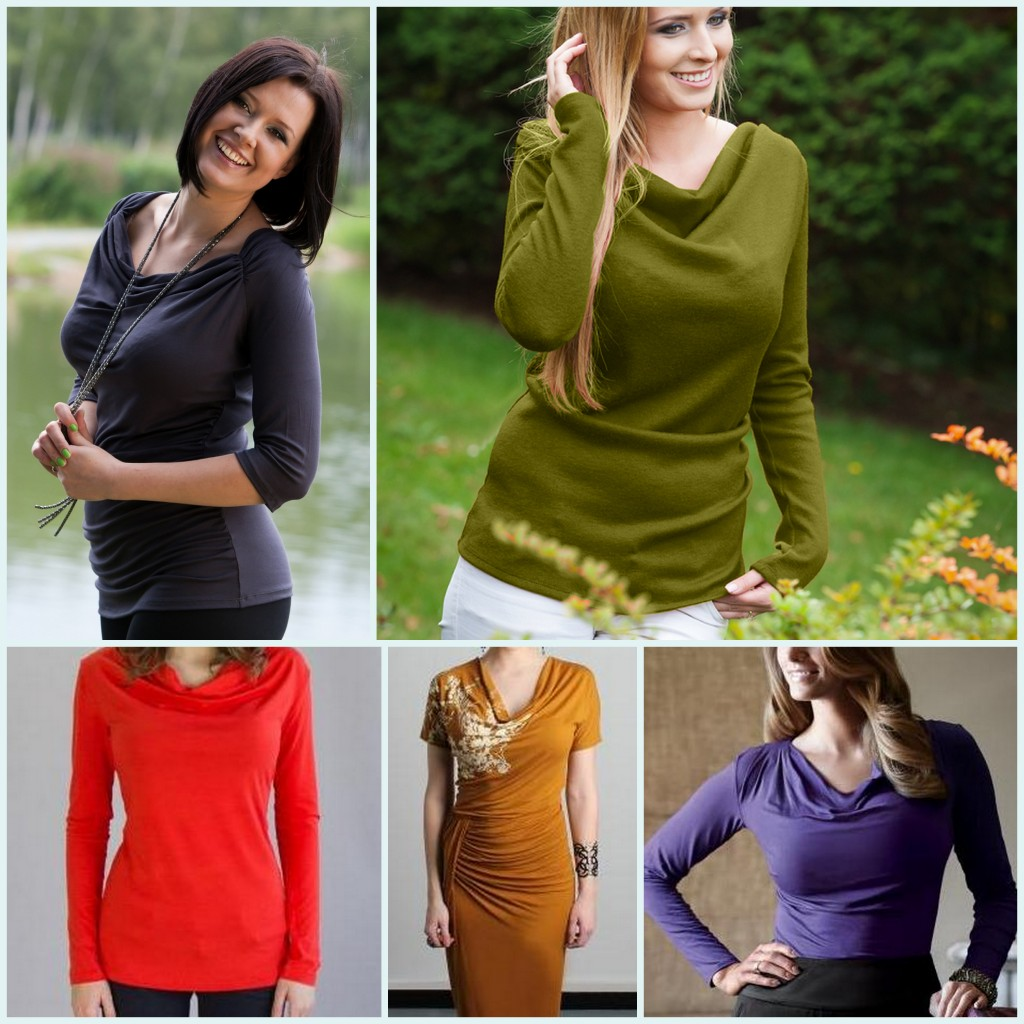 cowl necks for big busts