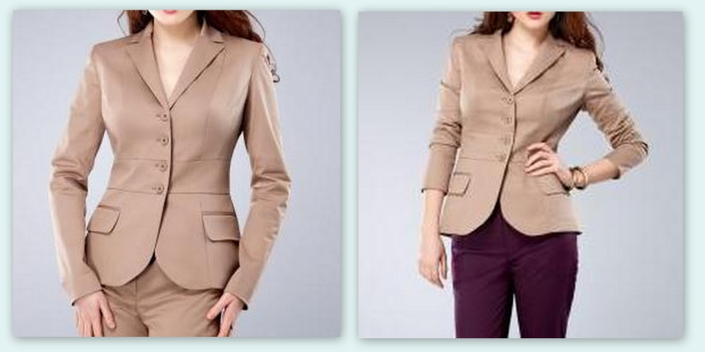 ddatelier mix and match blazer