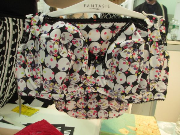 I'm a big fan of the Mollie. It has the fun print of a Freya bra, but the structure of Fantasie. If only it came in 28! But the rep assured me Fantasie will never add them. Boo.
