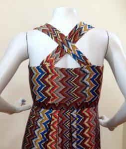 Convertible Maxi Dress Missioni Print