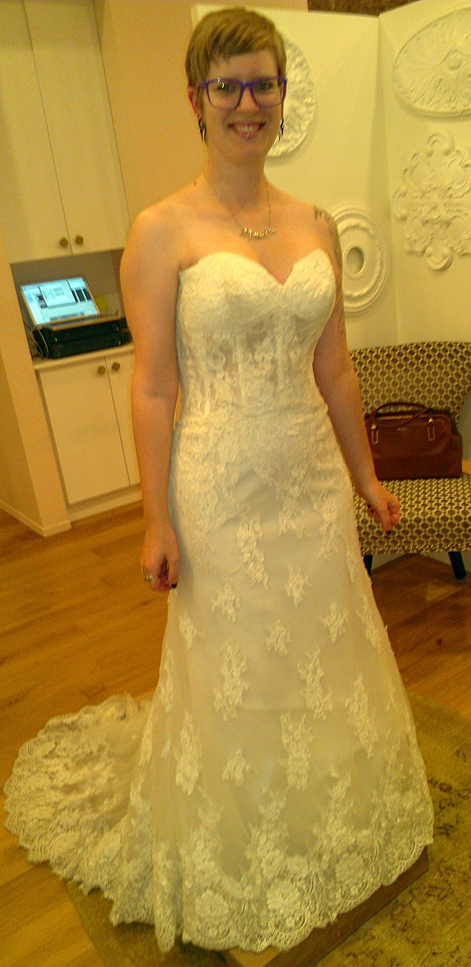 Off the Rack ~ Wedding Dress Shopping Part III: Alterations ...