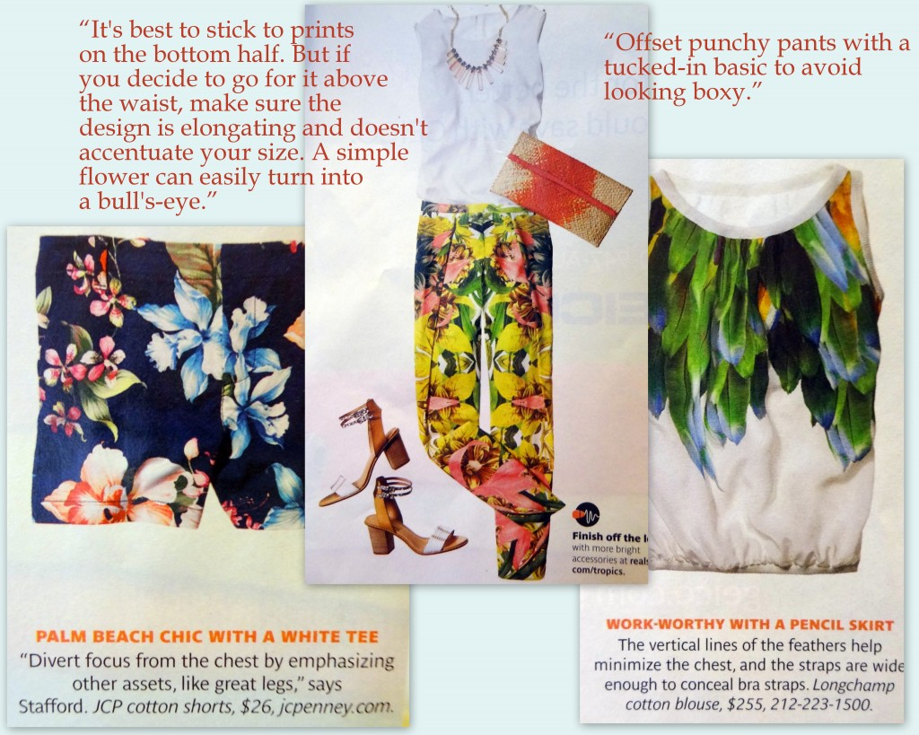 large bust tropical prints advice real simple