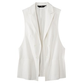 Mossimo collared vest from target