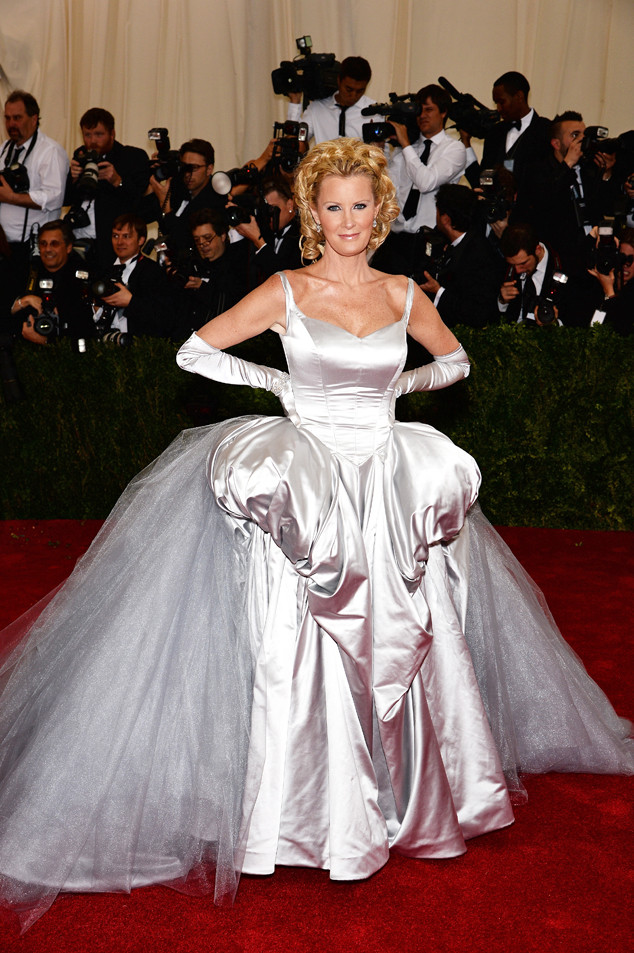 Sandra Lee Met Gala dress 2014