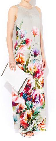 Wallis flower print maxi.