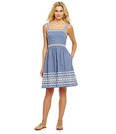 jessica simpson chambray sundress