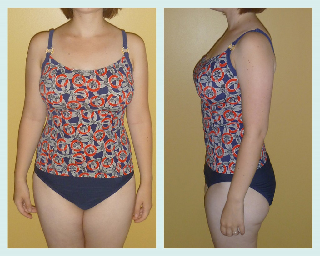 Panache Nancy tankini review front and side
