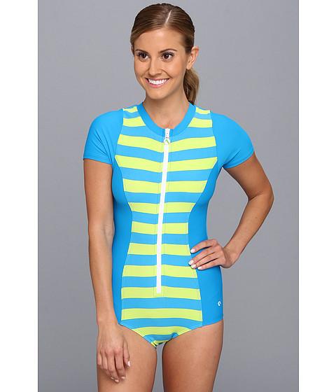 striped next by athena zip one piece