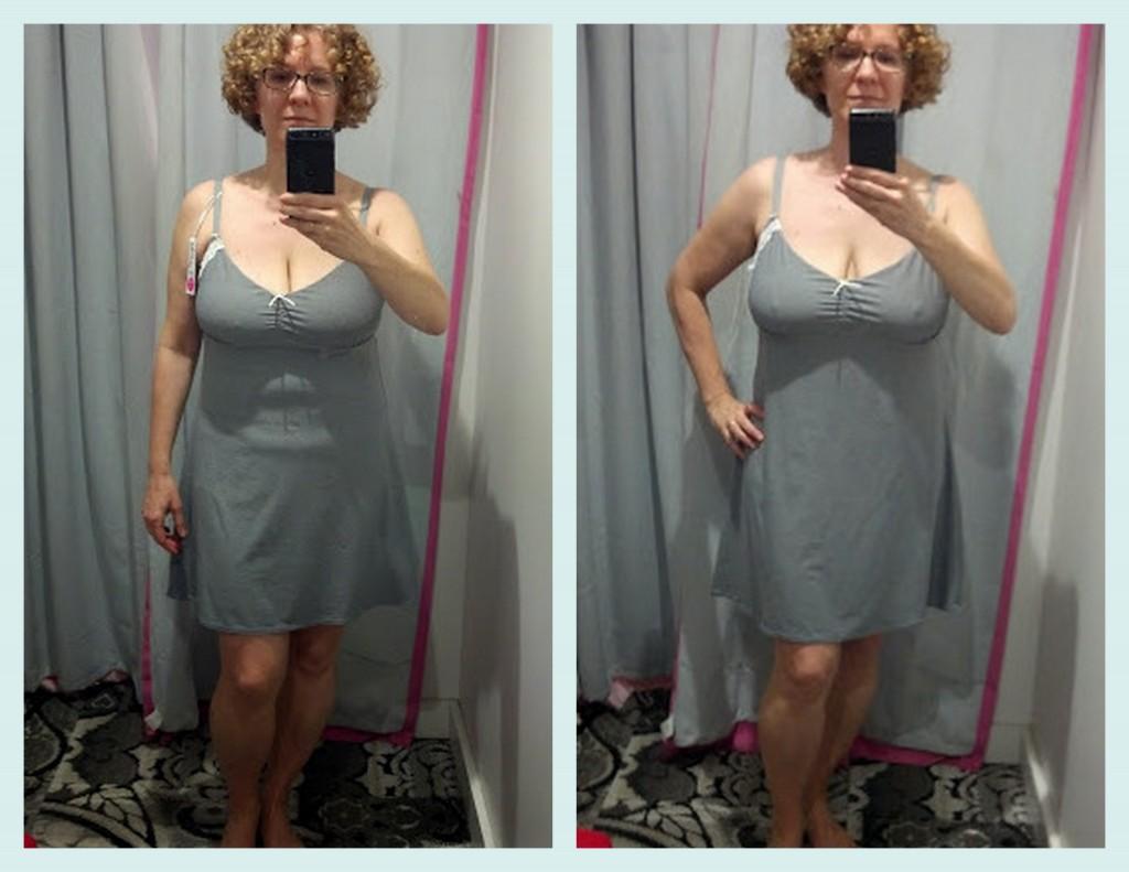 D plus chemise Deco Delight chemise compare medium with large