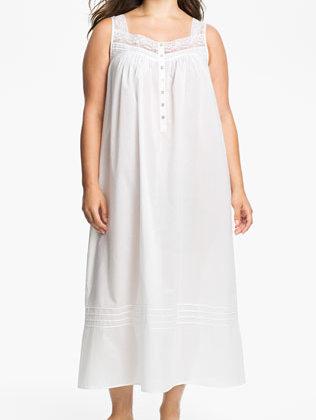 eileen west plus size nightgown