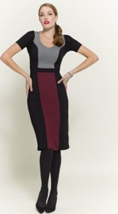 Colour Block Dress  $90.90.
