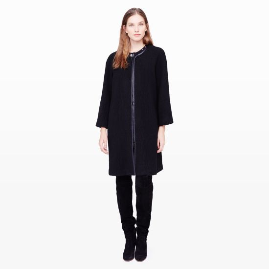 busty friendly cadin coat club monaco