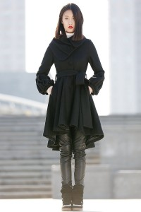 YL1dress black coat
