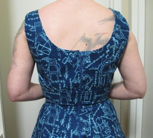 The back, where I think the too-wide straps are more clear.