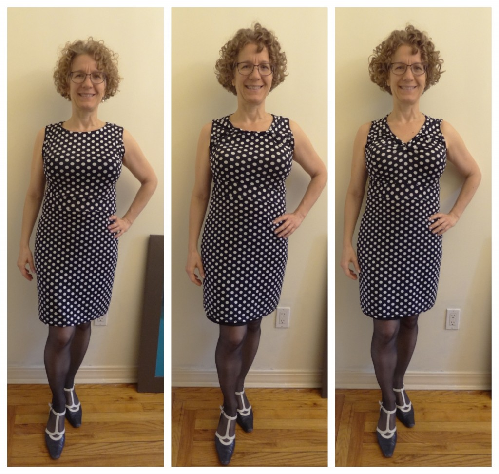 big bust neckline stretching exercise