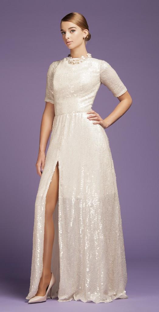 miriam baker ss15 sequin gown