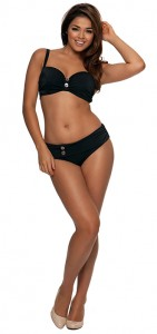 Curvy Kate Luau Love Black Bikini