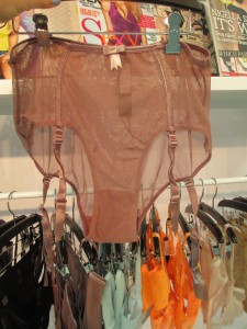 "Love these Fishnet ""pin up knickers"" with removable suspenders."