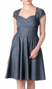 chambray dress1
