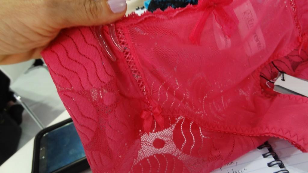 empreinte grace pink bottoms closeup