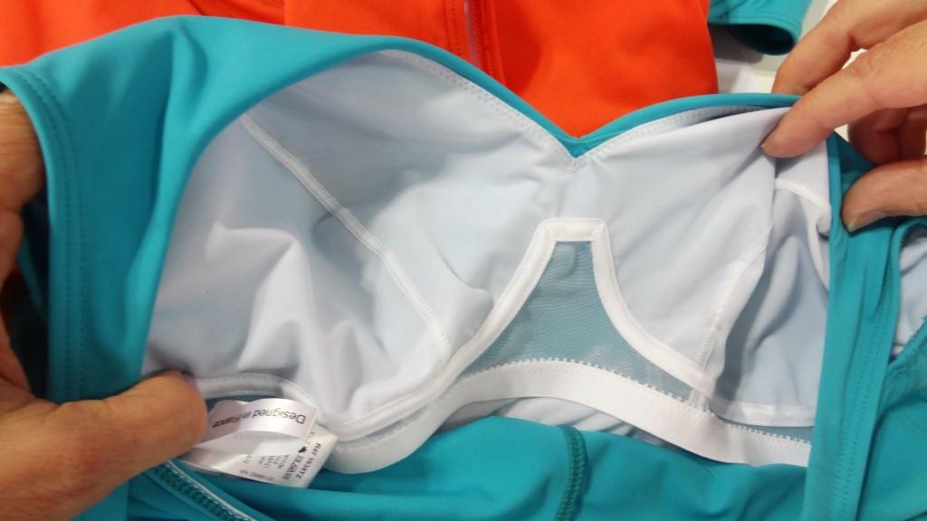 empreinte swim one piece tz shape closeup detail