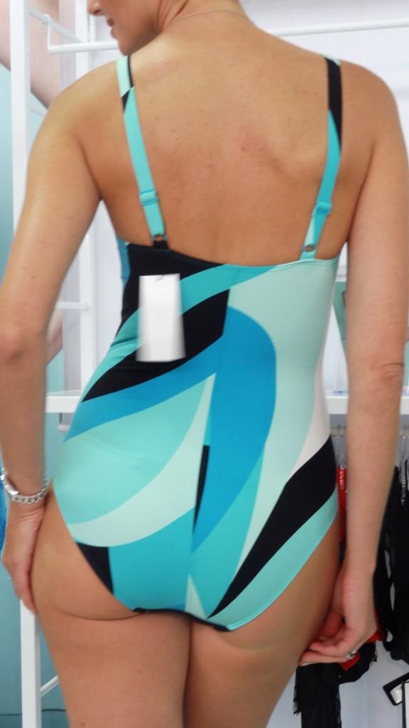empreinte swim one piece tz shape on model back