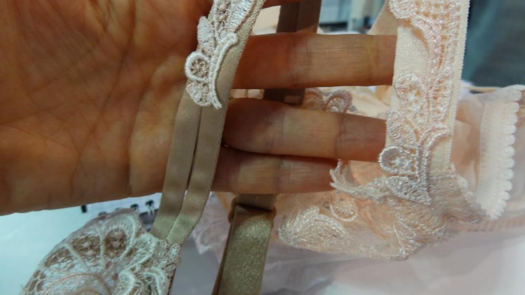 lise charmel dressing floral straps detail