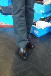 fluevog boots with pants